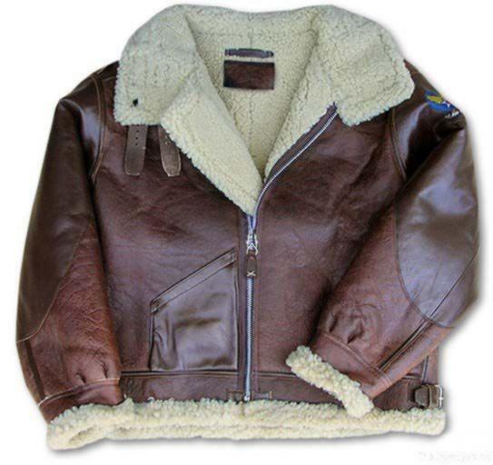 B3 Bomber Jacket / Sheepskin Flight Jacket