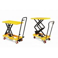 China High Lift Scissors Lift Aerial Work Platform With New Hydraulic System Increases Safety on sale