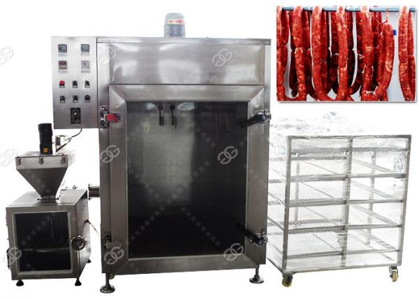 Quality China Meat Sausage Smoking Machine Automatic Fish Smoke Oven 50KG/H for sale