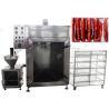 China CE Passed Meat Sausage Smoking Machine Automatic Fish Smoke Oven 50KG / H wholesale