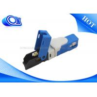 China Single Model SC Type Fiber Optic Fast Connector FTTH Low Polarization Dependent Loss wholesale
