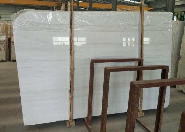 Quality Grey Vein White Marble Tile , Popular Marble Floor And Wall Tiles / Slab for sale