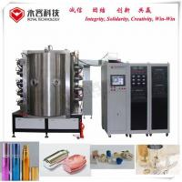China Glass Bottle PVD Plating Machine / Glass Bottle Decorative PVD Coating Equipment on sale