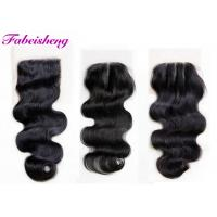 China Brazilian Virgin Hair 4x4 Lace Closure Body Wave For Young Girls wholesale