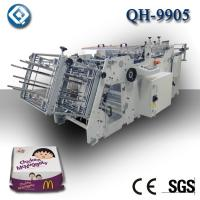 China Disposable Paper , Paperboard Burger Tray Making Machine Low Noise wholesale