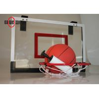 China Indoor Sport Free Standing Basketball Hoop Lightweight With A Mini Basket Ball wholesale