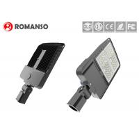 Buy cheap Outdoor LED Parking Lot Pole Lights 300 W Aluminum Base 130LM/W Dustproof from wholesalers