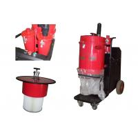 China Red 28kpa industrial heavy duty vacuum cleaners , high powered Dust Extractor on sale