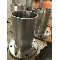 China Stainless Steel Long Weld Neck Flange Flat Face Astm A182 8 Cl150 S32750 on sale