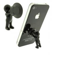 Buy cheap 3D man stand with silicone sucker for mobile phone from wholesalers