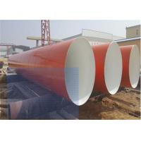 China Large Carbon Steel Anti Corrosion Pipe / Length 5.8m-12m Round Metal Pipe wholesale