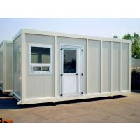 China Red Floor Steel Storage Container Homes Waterproof Double Sandwish Panel Wall wholesale