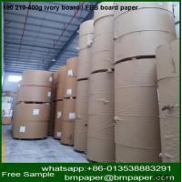 China 230g 250g 300g c1s coated card paper/ ivory board for greeting card making wholesale