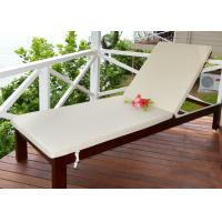 China Outdoor Wooden Lounge Chair Leisure Sun Lounger Environmentally Friendly Lacquer wholesale