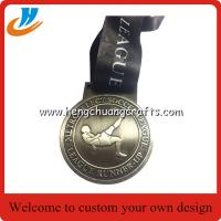 China Soccer sports medals customized,antique soccer/football metal medals on sale