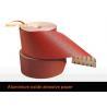 China Red Aluminium Oxide Coated Abrasive Cloth Wood Metal Polishing 60 - 800 Grit wholesale