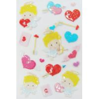 China Interesting Valentine Kawaii 3d Stickers , Love Heart Stickers For Promotional wholesale