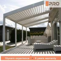 China Durable White Aluminum Attached Pergola Wall Mounted Style For Window Of Office wholesale