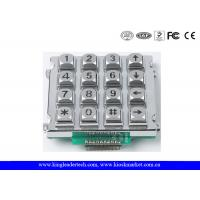 China Metal Industrial Numeric Keypad With / Without Backlight Ideal For Control System wholesale