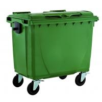 China 660liter plastic outdoor garbage bin/ waste bin/ trash bin/garbage container/dust bin wholesale
