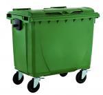 China 660liter plastic outdoor garbage bin/ waste bin/ trash bin/garbage container/dust bin wholesale