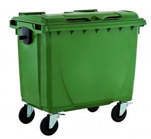 China compartimiento cubo de la basura del cubo de la basura del compartimiento de basura 660liter/del envase/de polvo al aire libre plásticos de la basura wholesale