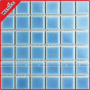 China Manufacturer variable blue pool mosaic tile wholesale