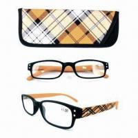 China Reading glasses with case, beautiful design wholesale