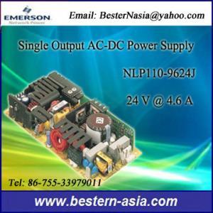 China fuente de alimentación de salida única de 24V 4.6A Emerson (Artesyn) NLP110-9624J AC-DC wholesale
