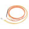 China Duplex 3.0mm Mode Conditioning Patch Cord 3M LSZH Orange For Gigabit Interface Converter wholesale
