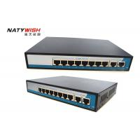 China 20Gbps Bandwidth Industrial POE Switch 8 Port LED Indicators For Monitoring Power wholesale