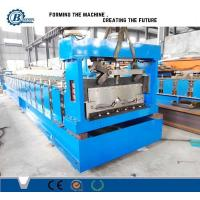 China Large Span Metal Steel Standing Seam Roof Panel Roll Forming Machine wholesale