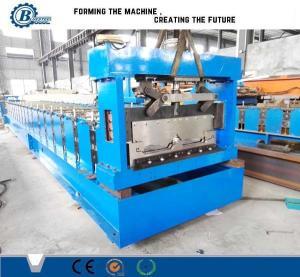 China Trizip Bemo Profile Standing Seam Roll Forming Machine / Metal Roof Roll Forming Machine wholesale