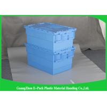 China Compartimientos de almacenamiento plásticos de Warehouse con las tapas, 600 * 400 * cajas plásticas modificadas para requisitos particulares 315m m del almacenamiento wholesale