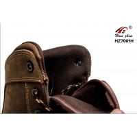 Quality High Ankle Sport Style Safety Shoes Breathable Oil Resistant For Wood Land for sale