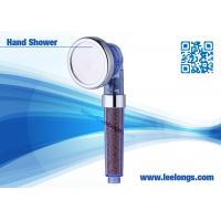 China SUS304 80mm Handheld Shower Head / large water saving shower heads on sale