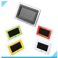 China Contemporary Customized 7 Inch LCD Digital Photo Frame With LED Light wholesale