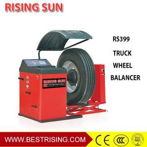 China Truck tire repair used wheel balancing equipment for garage wholesale