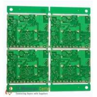 China 4 Layers 0.35mm Thickness Heavy Gold Plated for Phone Battery Double Sided PCB Board wholesale