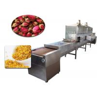 China 80 Kw Microwave Vacuum Belt Dryer , Microwave Drying Of Fruits And Vegetables wholesale
