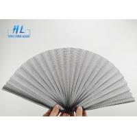 China Anti - Mosquito Plisse Insect Screen Retractable Polyester Material Light Weight wholesale