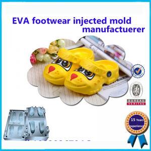 China High Heel EVA Slipper Mould Comfortable Kids Plastic Shoe Molding wholesale