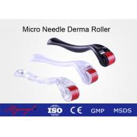 China Medical Skin Care Fine Titanium Micro Needling Derma Roller For Acne Scars on sale