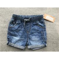 Buy cheap Boys Medium Wash Pull On Denim Shorts With Rib Waistband TW72702 TW72703 from wholesalers