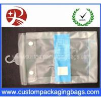 China Button Closure Hanger Plastic PVC Hook Bags With for Clothes Swimwear Bikini Packaging wholesale
