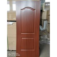 China Height 2150mm HDF Door Skin 3mm / 4mm Thickness Natural Veneer Surface wholesale