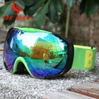 China UV400 Protection Reflective Ski Goggles Windproof / Dustproof For Outdoor wholesale