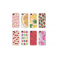 China Summer Fruit TPU Durable Cell Phone Back Cover For Iphone 6 6S 7 7Plus 8 8Plus X wholesale