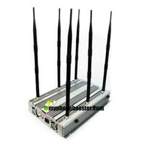China 90W High Power Wifi Jammer Blocker Adjustable Mobile Signal Jammer Blocker Block GSM DCS 3G Wimax LTE VHF UHF Lojack wholesale