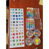 China Multi Colors EPDM Rubber Granules For Kids Amusement Parks Floors 1-3mm wholesale